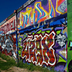Beverly MA Graffiti Wall